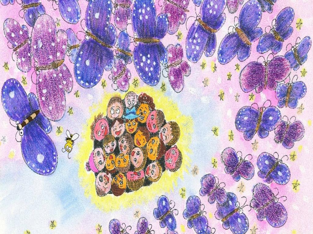 紫斑蝶會飛回來嗎?生態繪本巡迴分享,點燃保育希望!