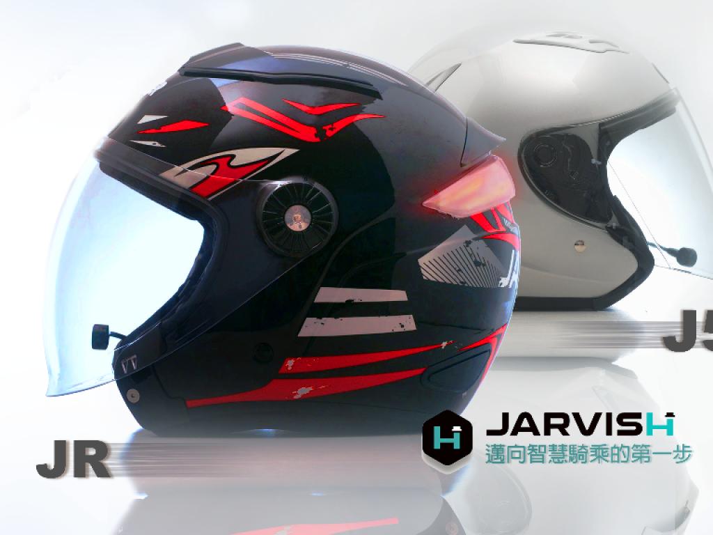 JARVISH JR/J5 智慧安全帽|邁向智慧騎乘的第一步
