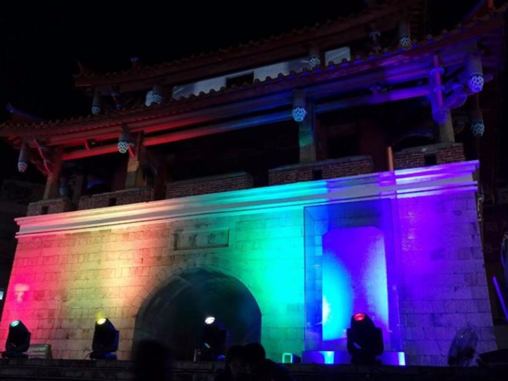 風城部屋 新竹彩虹文化祭-讓六色彩虹點亮迎曦門