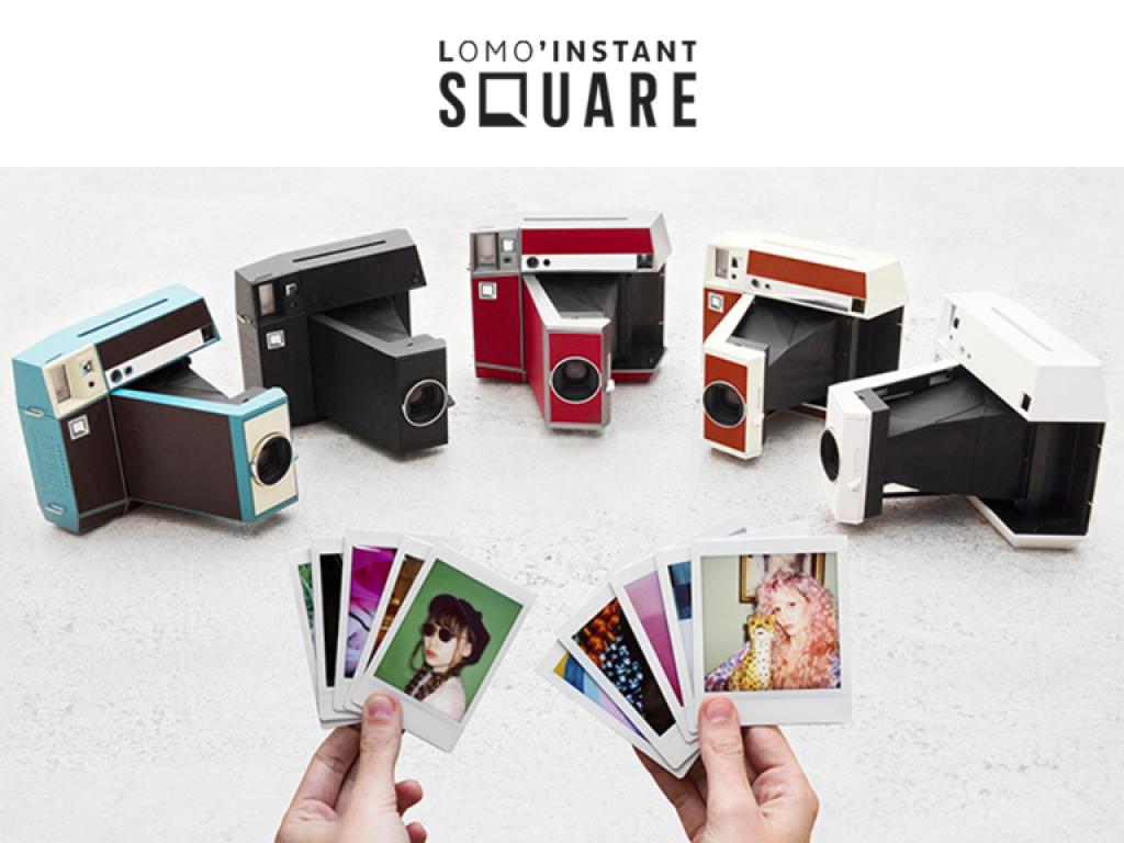 | 全球首台 | Lomo Instant Square 高階自動方形拍立得相機