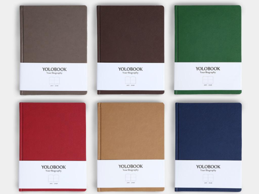 YOLOBOOK——寫個人傳記的好幫手