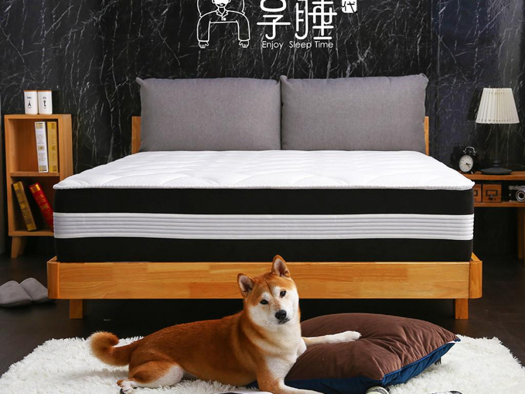 [享睡時代]100晚享睡|一款完美支撐設計核心的床墊