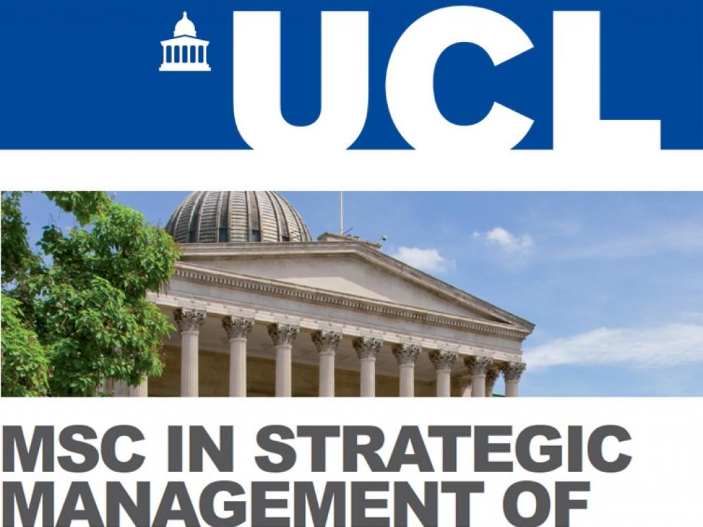 UCL 建築學院學費募資計畫
