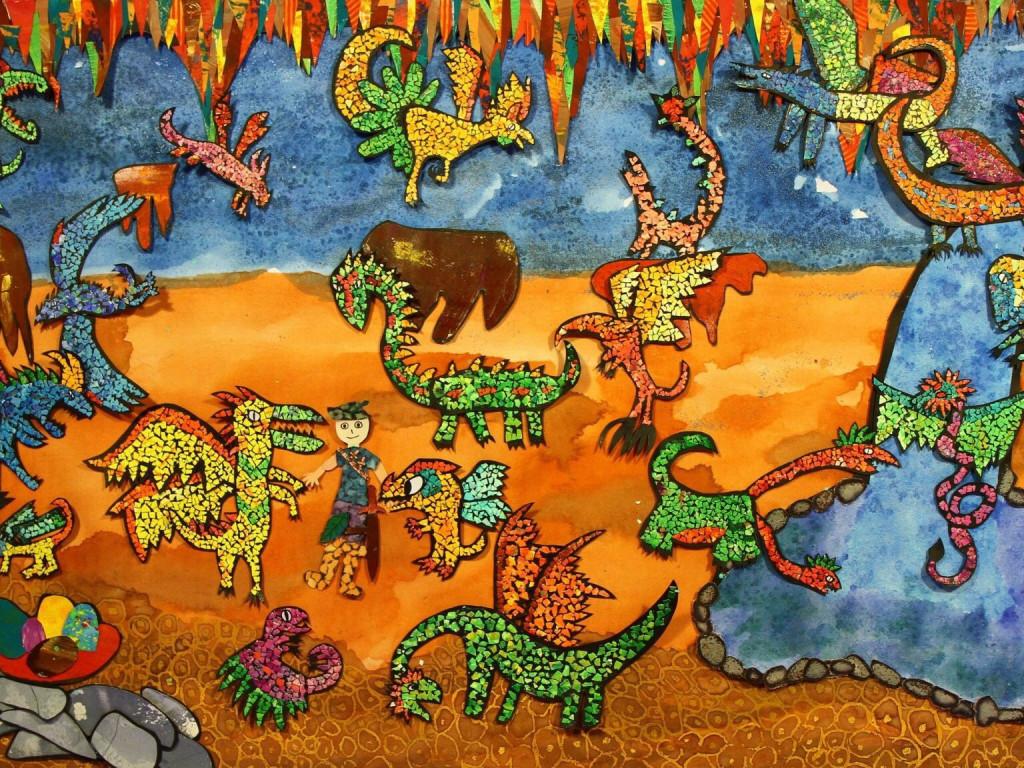 孩子的創作:《 馬瑞頓的巨龍 》動畫短片|前進烏克蘭、美國聖地牙哥國際兒童影展