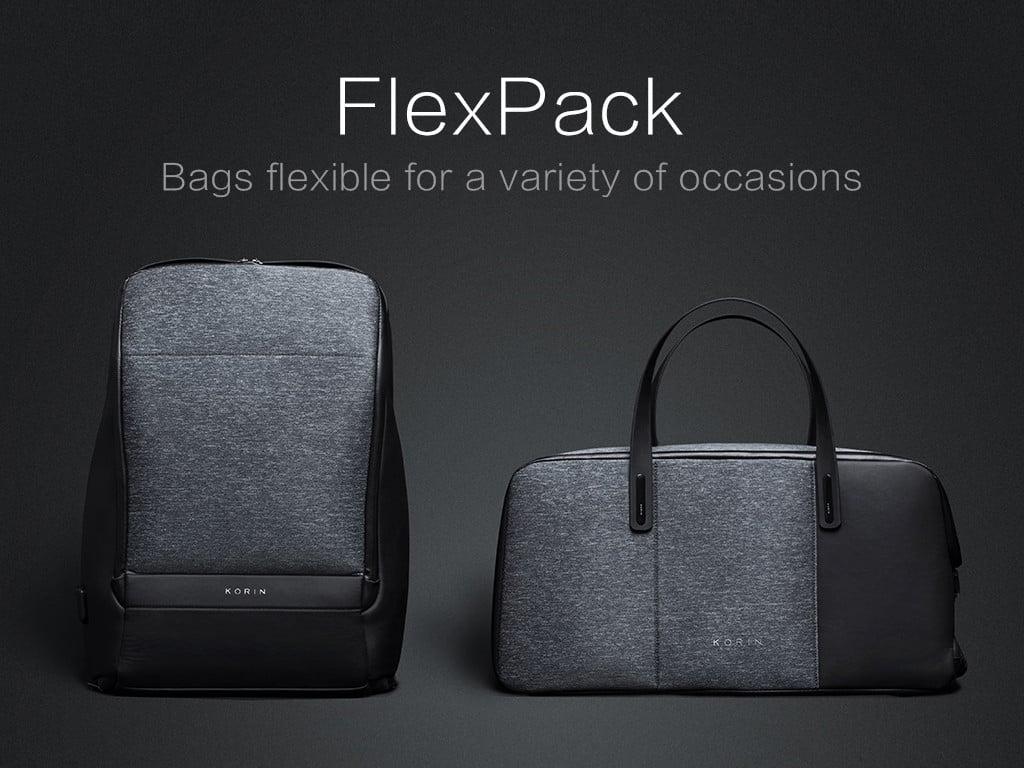 FlexPack|摺疊防盜手提包&多功能防盜後背包