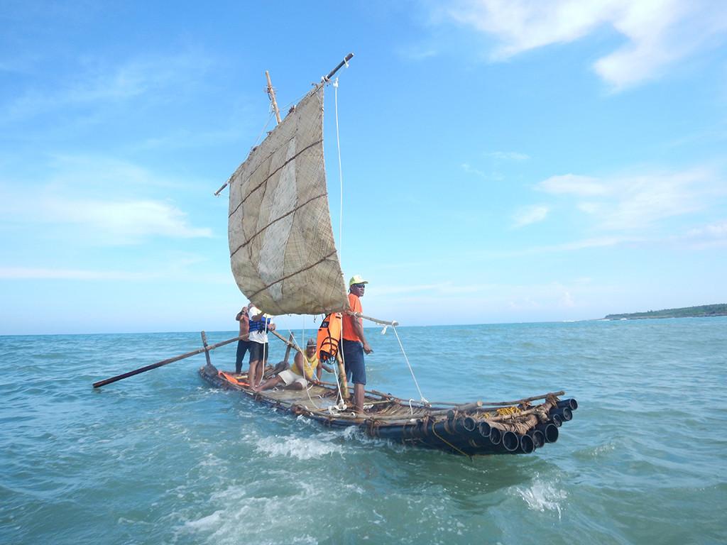 5000年前台灣古帆船的海上浪漫再現