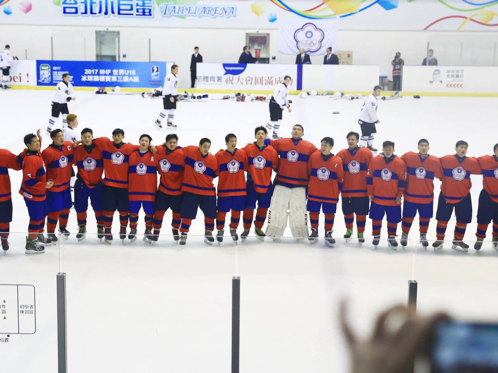 U20 冰球世錦賽|台灣冰球小將前進冰島