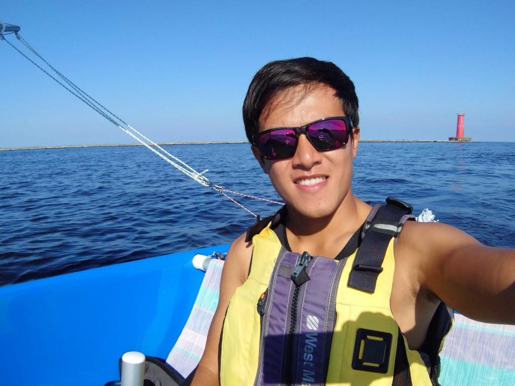 身障帆船選手吳其謙 2019 邁向世界盃