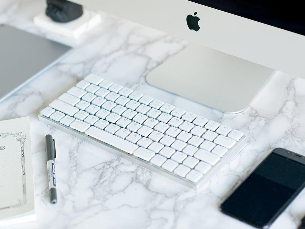 Taptek極簡機械鍵盤|最有蘋果風格的無線機械鍵盤