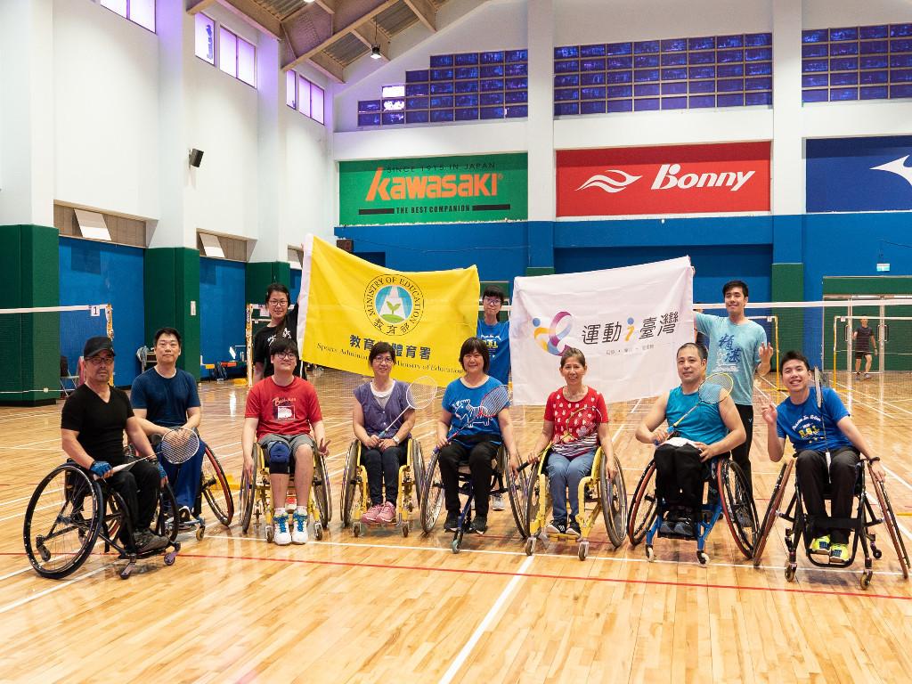 TDCA身障輪椅羽球樂活體驗營