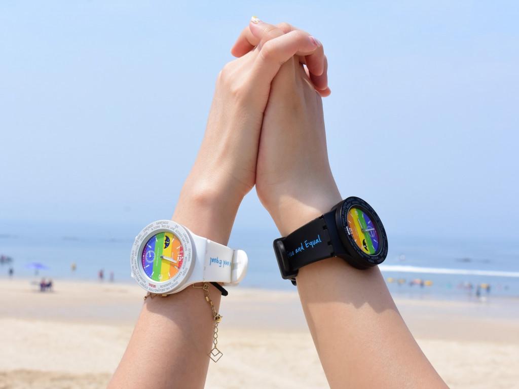 RHIZ X LGBTQ|台灣限定世界時區腕錶