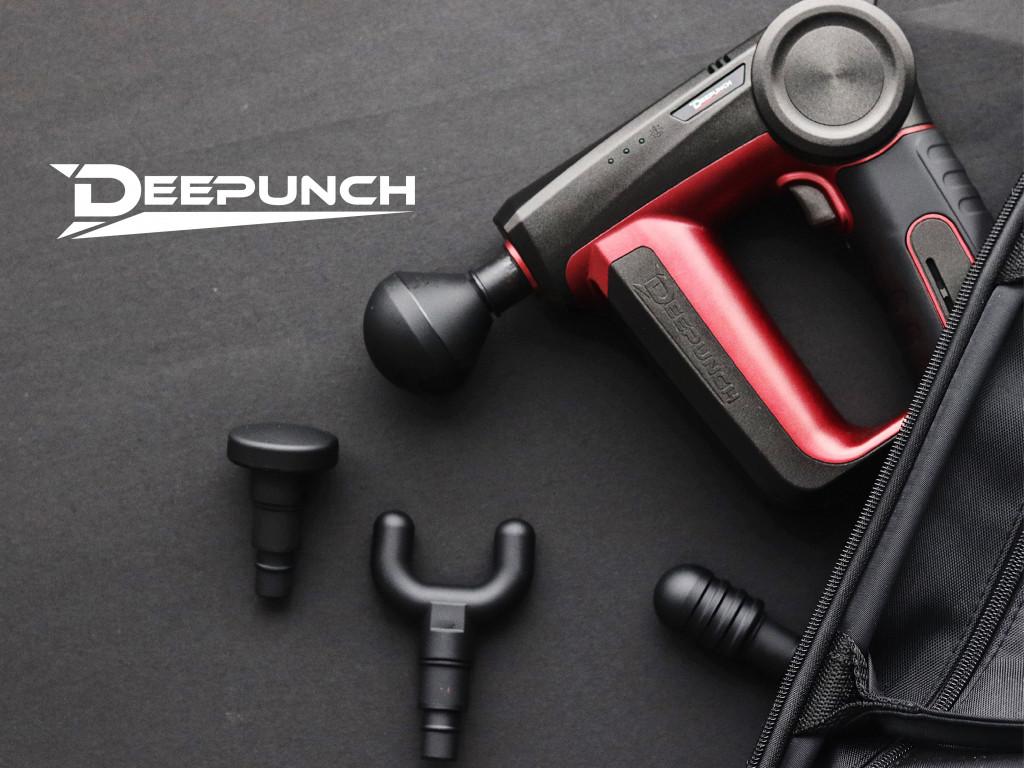 Deepunch 震動按摩槍|肌肉修復強化加速器