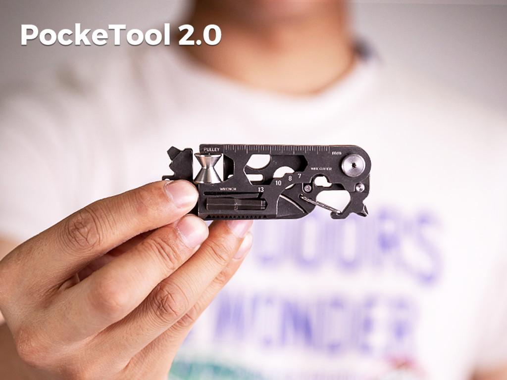 PockeTool2.0 戶外多功能小工具