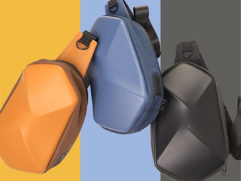 SHIELD|全境機能防盜斜肩包,滿足你日常與戶外的數位旅程