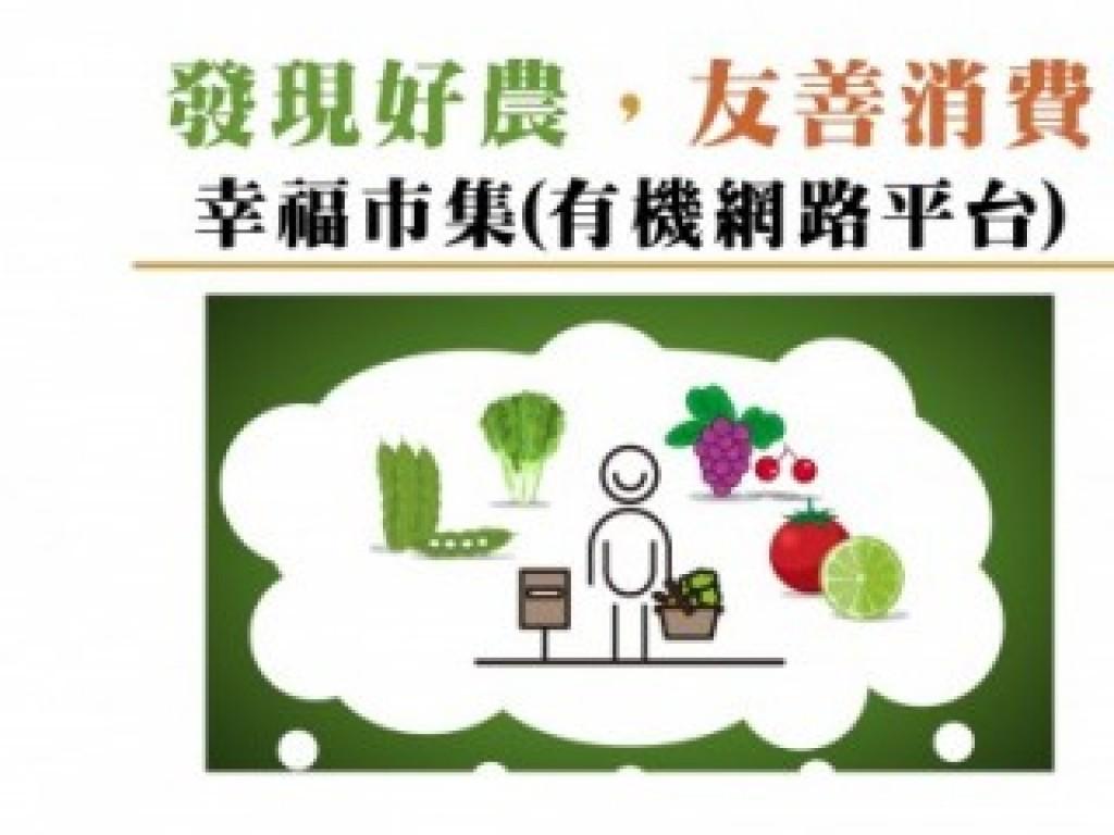 發現好農,友善消費 : 幸福市集有機網路平台