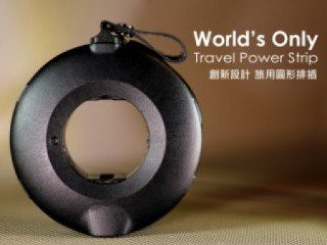 Power Donut 圓形排插 | 完美的旅行充電解決方案 - by MOGICS 摩奇客