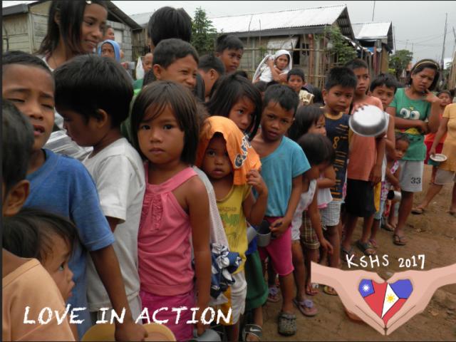 奎山中學菲律賓國際志工 Love in Action 讓愛菲吧 ❤️攜手幫助