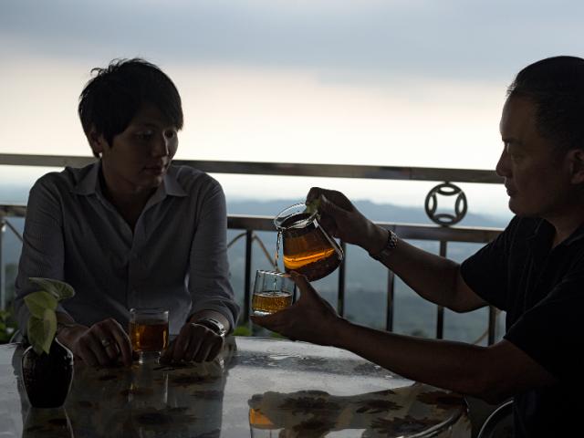 來自西拉雅  一年一次龍眼花茶