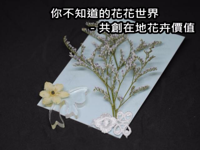 你不知道的花花世界-共創在地花卉價值之募資計畫