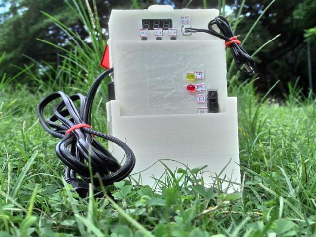【控制吧!!】自動數位溫度控制器|控制植物生長環境溫度的好幫手