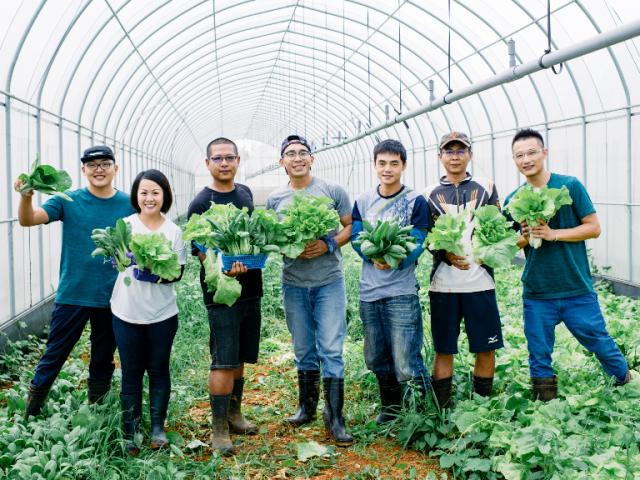 台中「親農」嚴選在地好物 ─ 台中青年農夫的堅持,唯有善耕才能結善果。